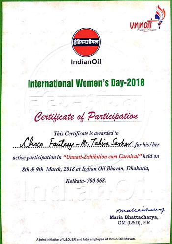 Choco-Fantasy-Indian-Oil-Certificate