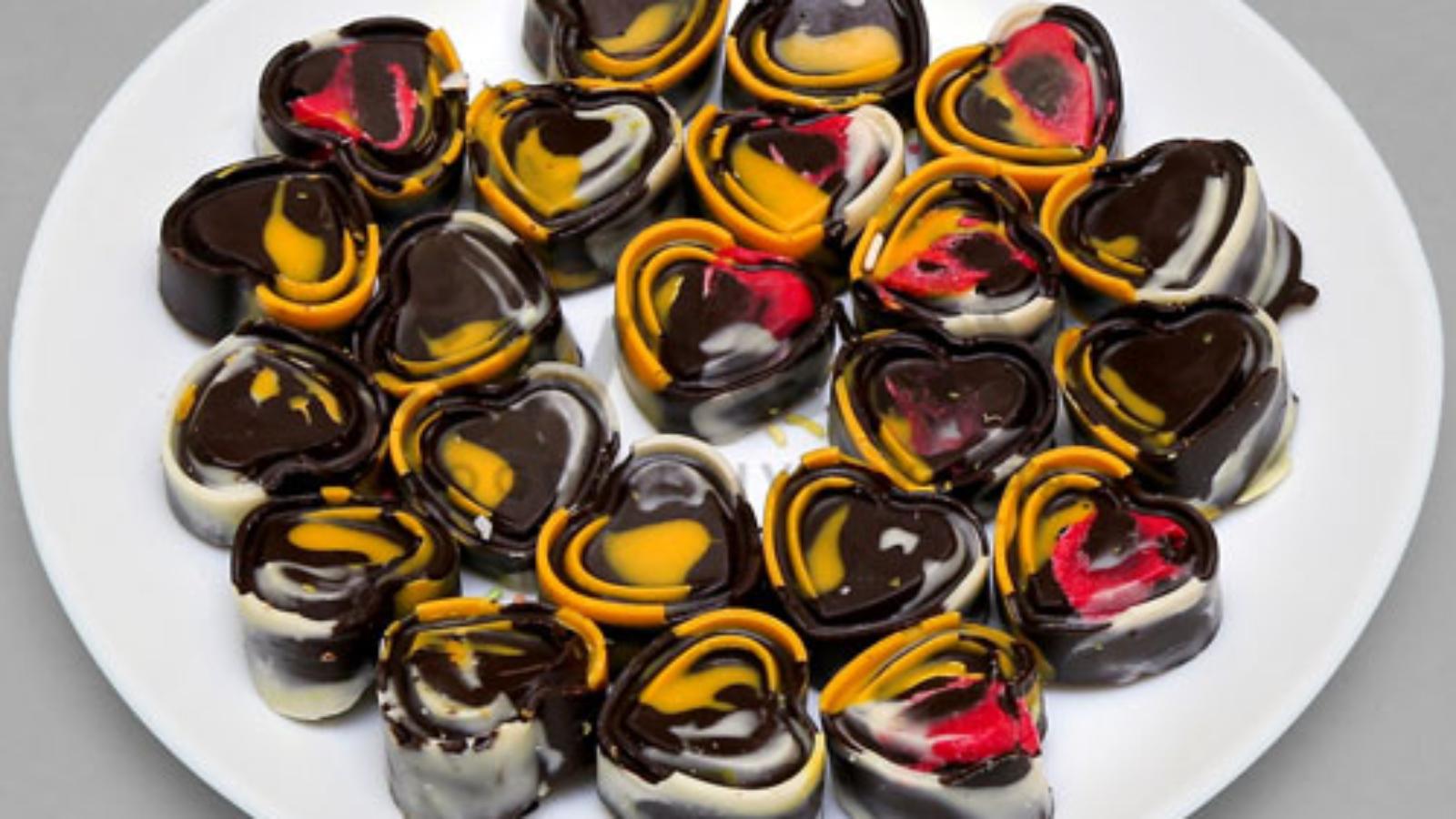 Colourful-Designed-Chocolates