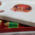 Cracker Shaped Chocolate Gift Box for Diwali