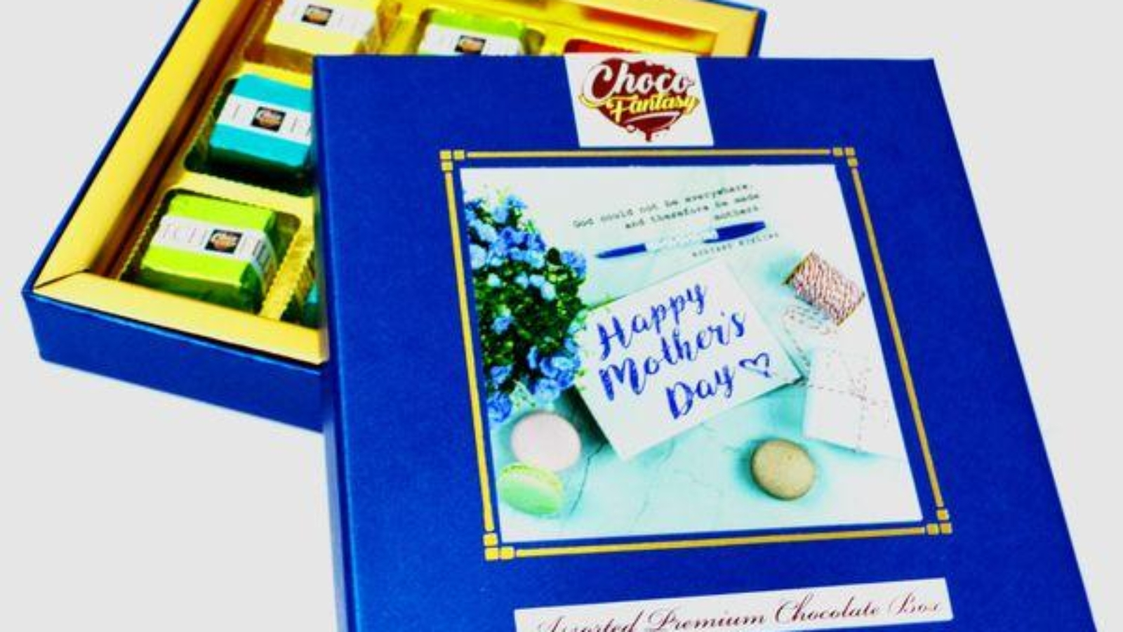 Mothers day Homemade Chocolate Gift Box