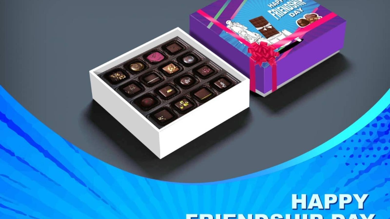 Friendship Day Handmade Chocolate Gift Box Online