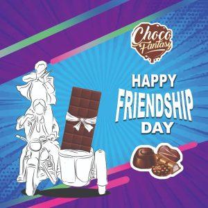 Friendship Day Handmade Chocolate Gift Box 2