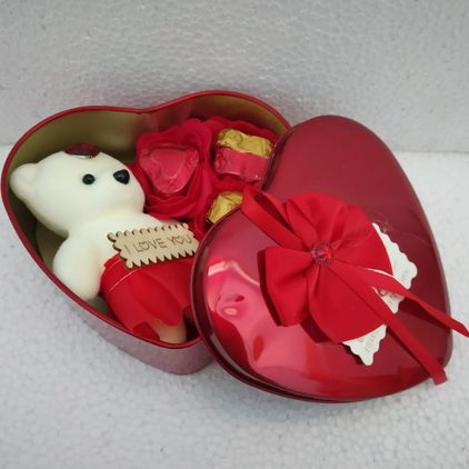 Valentines Day Chocolate Gift Box for her