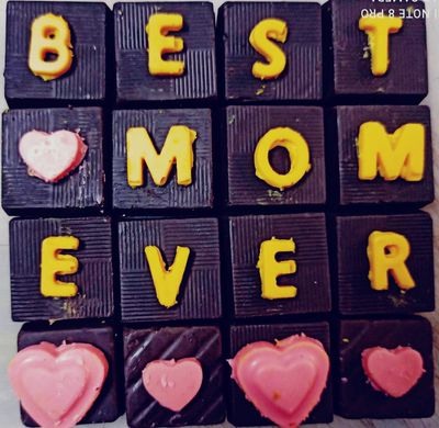 Mother's Day Homemade Chocolate Gift Box 5